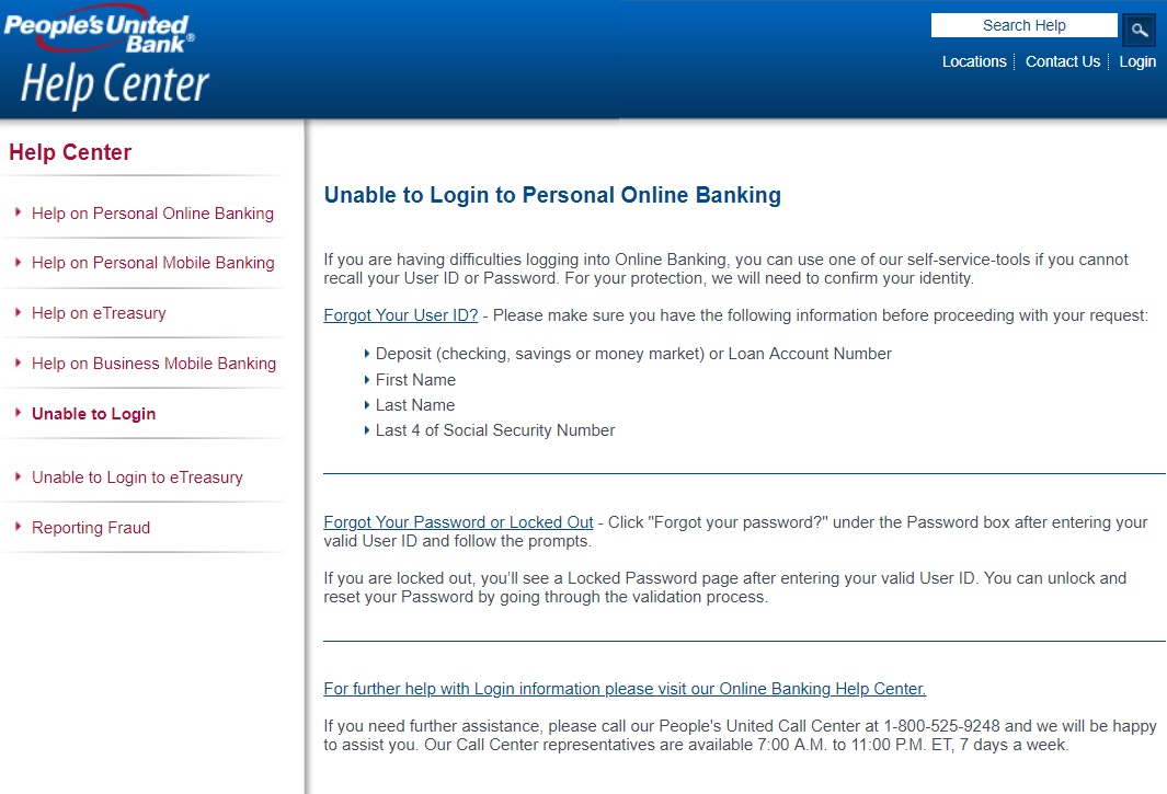 bank login united business they retrieve reset given password another option